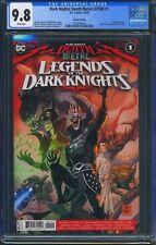 Dark Nights Death Metal Legends of the Dark Knights 1 CGC 9.8 Robin King 2nd Prt