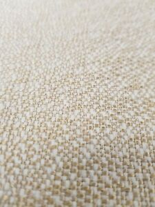 Upholstery fabric Gold yellow plain wool look craft curtain cushion 10 meters