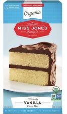 Miss Jones Baking Organic Ultimate Vanilla Cake Mix, 15.87  Oz, Vegan, Kosher