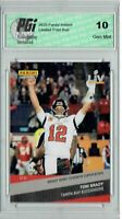 Tom Brady 2020 Panini Instant #265 1 of 1693 Wins 7th Super Bowl Card PGI 10