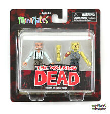 Walking Dead Minimates Series 8 Gregory & Forest Zombie