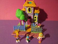 Polly Pocket Mini ♥ Giraffen Haus ♥ Giraffe House ♥ 1994 ♥ 100% complete  ♥