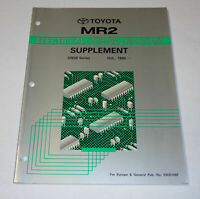Manual Electrical Wiring Diagram/Workshop Manual Electric Toyota MR2 / Mr 2