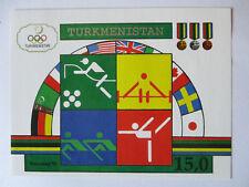 Turkmenistan Block 2 Mint Olympia Barcelona 1992 (28600)