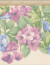 FLOWER WALLBORDER PAPER 12792