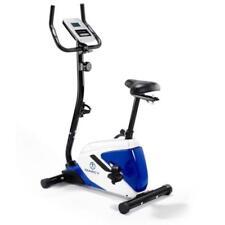 Marcy Azure BK1016 Upright Exercise Bike-Black/White/Blue, One Size
