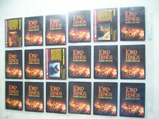 Lord of The Rings Trading Card Game Collection Set Of 18 Singles #2