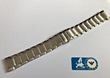 Emporio Armani 2448 Watch Strap Silver With Clasp Steel