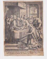 De Vos Maerten (1532-1603)  Sadeler Johannes Presentazione di Gesù 1580