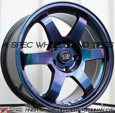 17X8 ROTA GRID WHEELS 5X114.3 RIM ET35MM OFFSET IN CHEMELEON (SET OF 4)