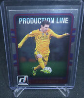2016-17 Panini Donruss Soccer Lionel Messi Production Line Card #10 FC Barcelona