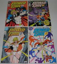 POWER GIRL #s 1 2 3 4 Complete Series (DC Comics 1988) Reintro POWER GIRL (VF)