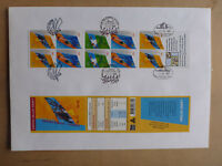 2000 AUSTRALIAN PARALYMPIC SPORTS BOOKLET LARGE FDC