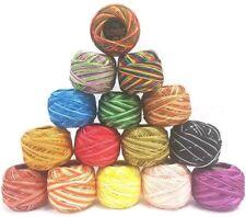 15 ANCHOR Pearl Cotton Crochet Embroidery Thread Balls Size 8 Unique Colors