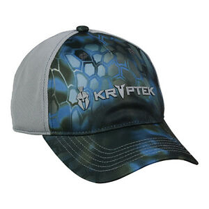 KRYPTEK Neptune Camo MESH BACK w/2 Logos Hunting Tactical Shooting Hat