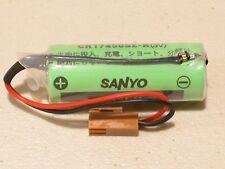 NEW FANUC OEM BATTERY A98L-0031-0012 SANYO CR17450SE-R 3V PLC INDUSTRIAL BATTERY