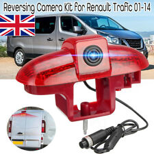 170 Degree Rear View Night Vision Camera Brake Light For Renault Trafic 01-14