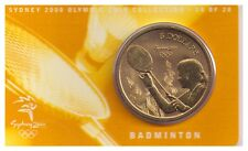 2000 $5 RAM UNC Coin Sydney Olympic Coin - NO OUTER COVER - 14 of 28 - Badminton
