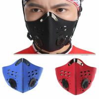Training Mask With Filter Cycling Face Masks Half Face Carbon For Fitness Mma