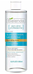 Bielenda Skin Clinic Professional Moisturising Face Tonic Hyaluronic Acid 200ml