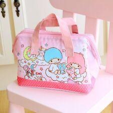 Little Twin Stars bear anime oxford lunch bag storage picnic bag handbag new