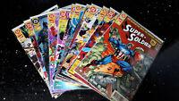 """COMICS  """" DC  GEGEN MARVEL COMICS """"   Dino 1996    12   Bände    Zustand 0/1 bb"""