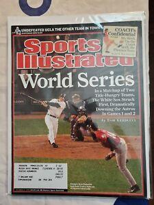Sports Illustrated Back Issue October 31, 2005 World Series Scott Podsednik