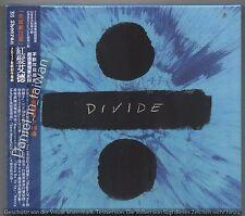 TAIWAN OBI & SLIPCOVER CD Ed Sheeran: Divide - Deluxe Edition (2017) CD SEALED