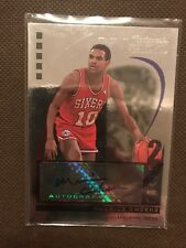 NBA Auto Card Maurice Cheeks Topps 2007-08 2/75 Rare