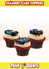 Novelty Jackson Storm MIX Cars Stand Up Cake Cupcake Toppers Edible Birthday