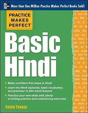 Practice Makes Perfect Basic Hindi by Sonia Taneja Paperback Book (English)