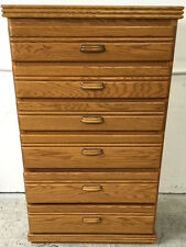 Contemporary Wood Chest Of Drawers Lot 2304