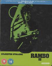 Rambo III 3 Blu Ray Steelbook, NEU & OVP