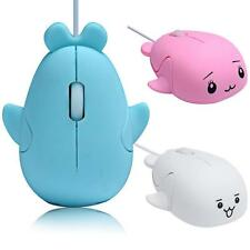 Cute Dolphin 1200 DPI Wired Optical Gaming Game USB Mice Mouse For PC Laptop HOT