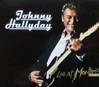 CD + DVD - JOHNNY HALLYDAY - LIVE AT MONTREUX 1988 - DVD ZONE 0
