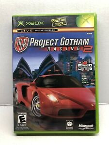 Project Gotham Racing 2 (Microsoft Xbox, 2003) Complete w/ Manual - Tested
