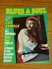 BLUES AND SOUL MUSIC MAG #323 1981 JOE SAMPLE DISCO