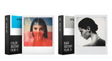 Doppelpack- Impossible Color Film und Schwarz-Weiß Film für Polaroid 600 Kameras