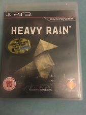 Heavy Rain ps3 PlayStation 3 Game Unique Game Play