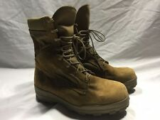 Suede Solid Military Bates Boots for Men