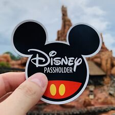 Mickey Mouse Ears Annual Passholder Car, SUV, RV Magnet All Disney Parks