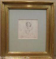 Vigée Lebrun, secondo Autoritratto il Famoso Artista,Matita,um1850
