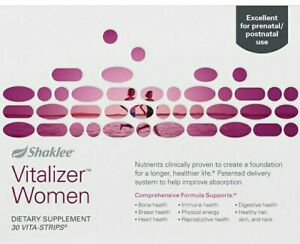 Shaklee Vitalizer Women Dietary Supplement 30 Vita-Strips -  FREESHIPPING