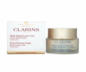 Clarins Extra Firming Night rejuvenating cream 1.7 oz all skin types NIB