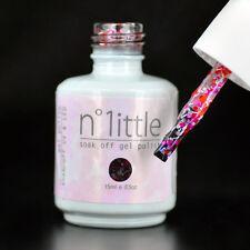 15ml n.1ittle Nail Art Soak Off Glitter Color UV LED Gel Polish UV Lamp #070