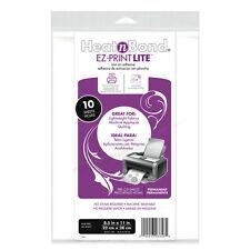 """HeatNBond Lite 8.5 x 11"""" (21.5 x 28cm) Sheets - Pack 10"""