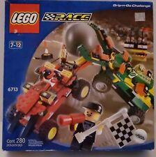 New and sealed LEGO Race 6713 Grip 'n' Go Challenge Set - minor shelf wear