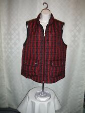 Light Weight Puffer Vests Croft & Barrow size 2XL,XL,Some solid & other Color NW