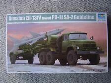"Trumpeter 1/35 Soviet/Russian ZiL-131V towing PR-11 SA-2 ""Guideline"""