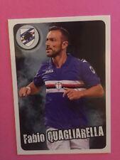 Calciatori Panini 2017/18 - CARD QUAGLIARELLA SAMPDORIA GOL FUORI RACCOLTA